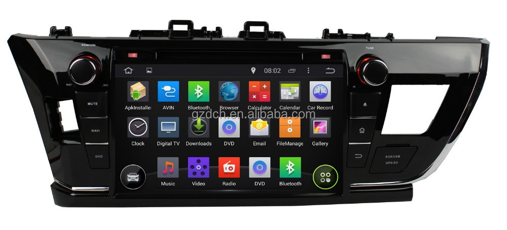 9 inch 5.1 android car dvd player for <strong>toyota</strong> <strong>COROLLA</strong> 2014 altis 1024*600 quad core 1G+16G optional WS-9488