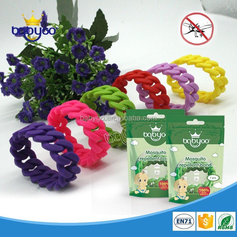 Anti mosquito repellent twist band