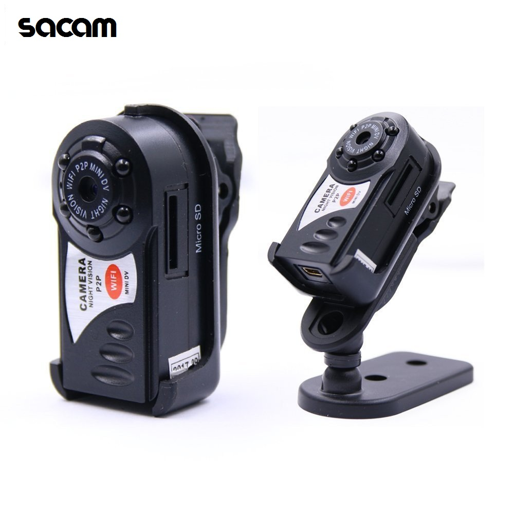SACAM HD Q7 WiFi Camera Mini Wireless IP Recorder 720P DV DVR Smallest Micro Cam Night Vision Video Camcorder фото