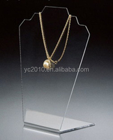 clear Acrylic Necklace Jewellery Display Stand, Perspex Jewelry Display