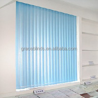 Aluminium head rail 89MM Fabric Vertical blinds