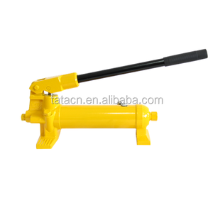 The large oil capacity high pressure hydraulic oil piston hand pump