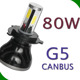 2017auto parts 80w led fog light hi/lo h4 led headlight bulbs h1 h3 h4 h7 h11 h13 9006 9005 9007 9004 A3 A4 accessories. car