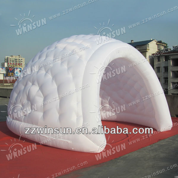 airtight bubble tent for camping,advertising promotion,stage act,show