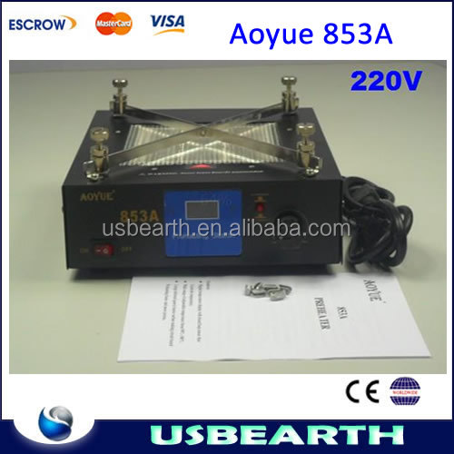 Aoyue 853A Infrared Preheating Station BGA solder station,also have the reflow oven station