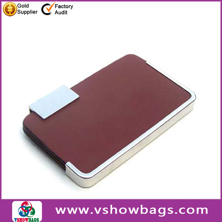 Wholesale gift business card holder metal