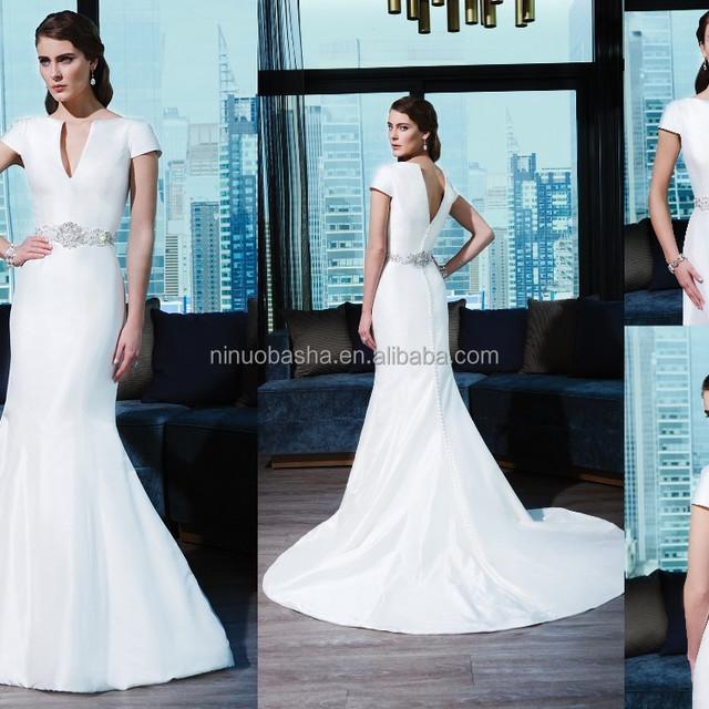 China Short Wedding Dress Long Sleeve Wholesale 🇨🇳 - Alibaba