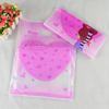 Hot sale for Christmas gift packing bag plastic shopping bag with die cut