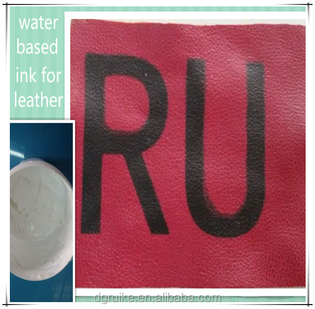 textile screen printing water-based ink for leather