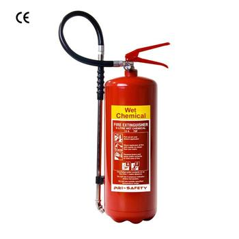 9l Wet Chemical Fire Extinguisher For Kitchen Fire System - Buy Wet ...