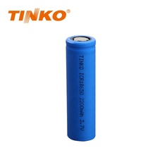 Tinko 3,7 V 2200 Mah <span class=keywords><strong>18650</strong></span> Wiederaufladbare Lithium-Batterie