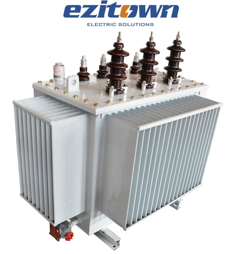 ezitown china manufacture three phase 132kv oil immersed mv transformer