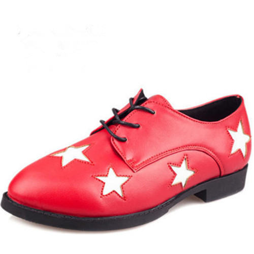 Mocassim Calcados New 2014 Autumn Winter Leather Casual Fashion Women Shoes White Red Black Oxfords Sapatos Mocassim Feminine