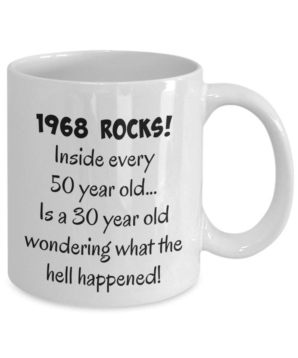 Older Than Dirt Happy 50th Birthday Coffee Mug