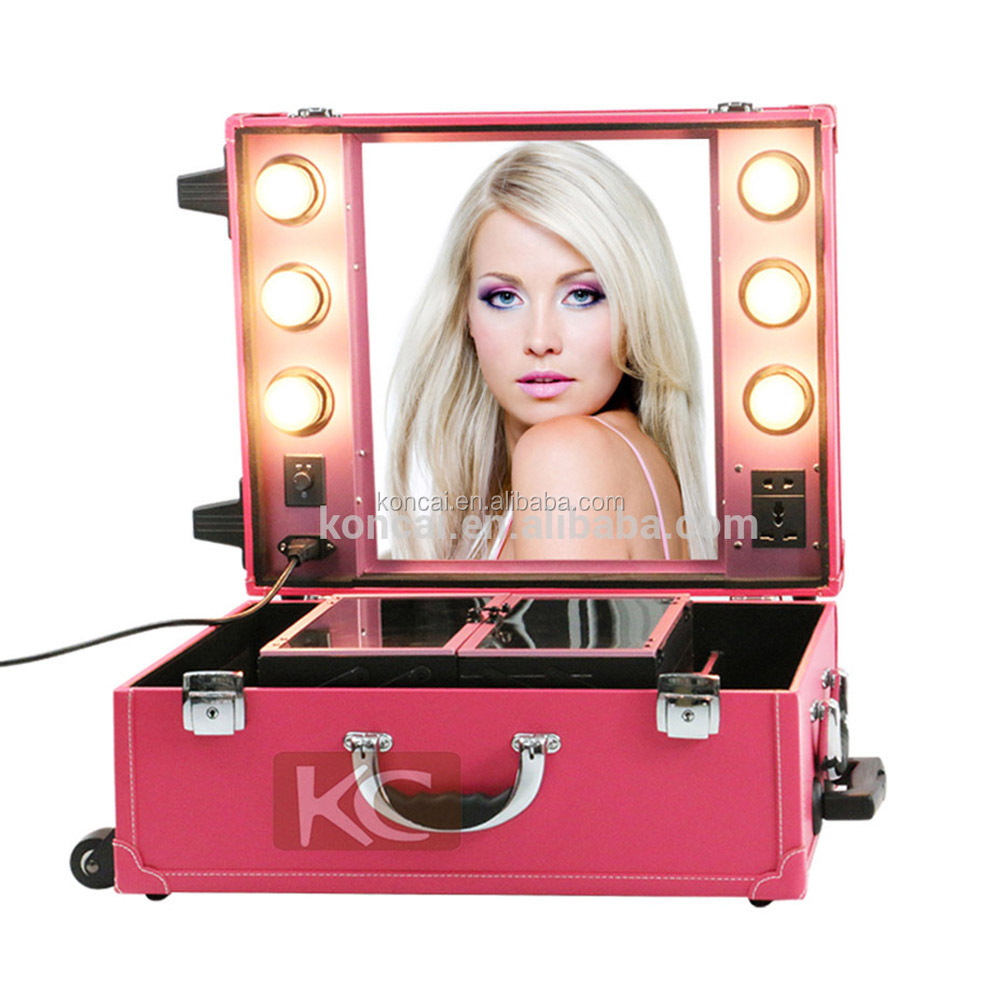 High-Quality-PVC-makeup-cases-with-lights