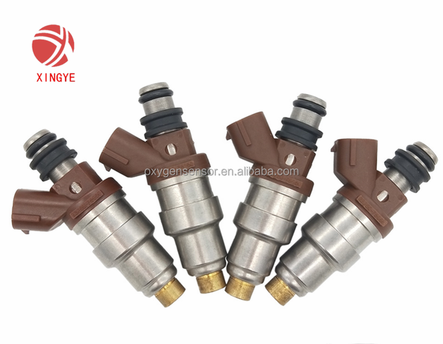 New Manufactured !4PCS Fuel Injectors 23250-75050 For 95-00 Toyota Tacoma T100 4Runner 2.7L-L4