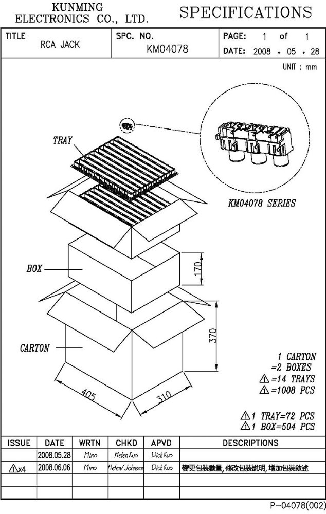 Video Pin Diagram