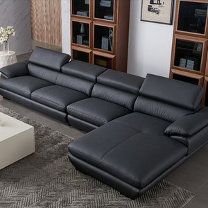 Modern  Living Room Furniture Sectional Leather Sofa