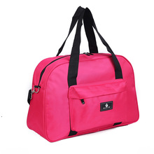 wholesale High Quality young Light Pure Colour Nylon sport Travel Bag