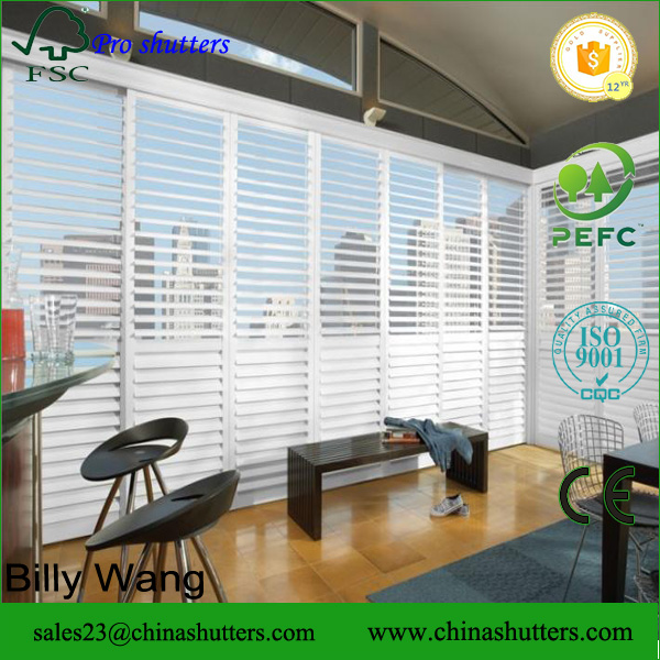 High quality new colors of shutters sizes plantation shutters vinyl