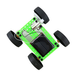 Wholesale DIY Assemble Mini Solar Powered Car Toy Set Science Educational Toy Robot Kit for Kids Students Educational Toys
