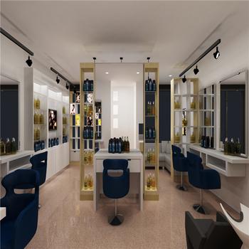 Kosmetik Salon Mobel Holz Glas Vitrine Schaufenster Buy Kosmetik
