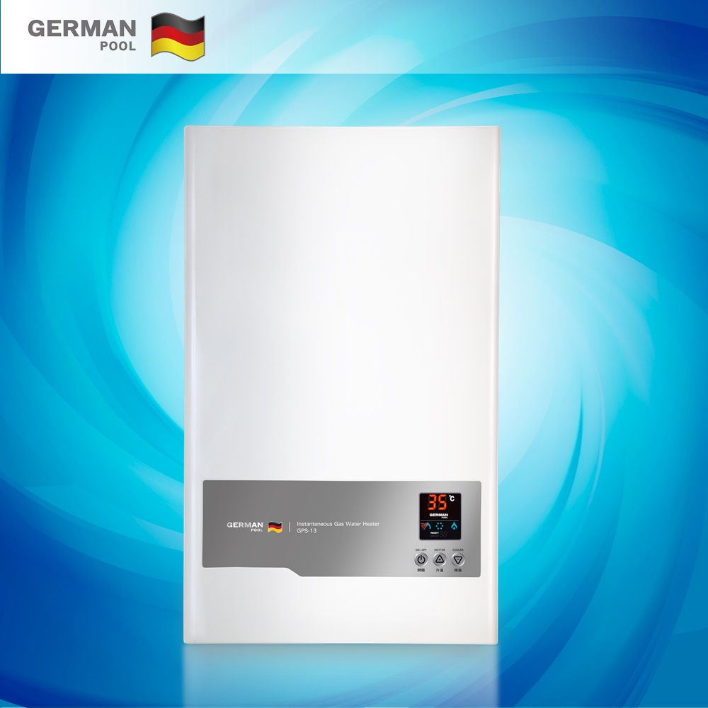 GermanPool OEM Reliable 6KW thermal cut out hanging Commercial vertical Electrical Hot water heater