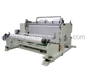 JUMBO PAPER ROLL SLITTER REWINDER MACHINE PST-1600 from Pac King in China