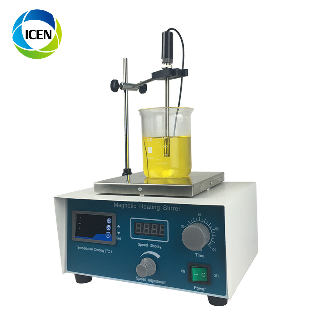 IN-HJ-3 High Speed Stable Digital Display  Temperature Magnetic Stirrer