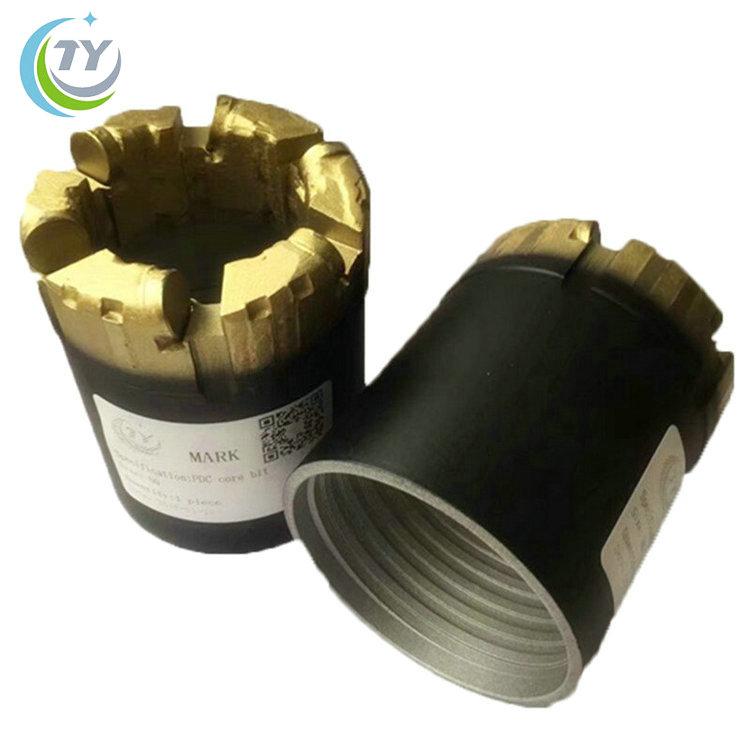 Stahl körper 3 klingen NQ PDC nicht coring bit für bergbau