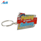 cheap factory price custom enamel letter design girl keychain
