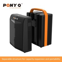 1000VA Portable Solar Energy Backup System With Built-in LifePO4 Battery