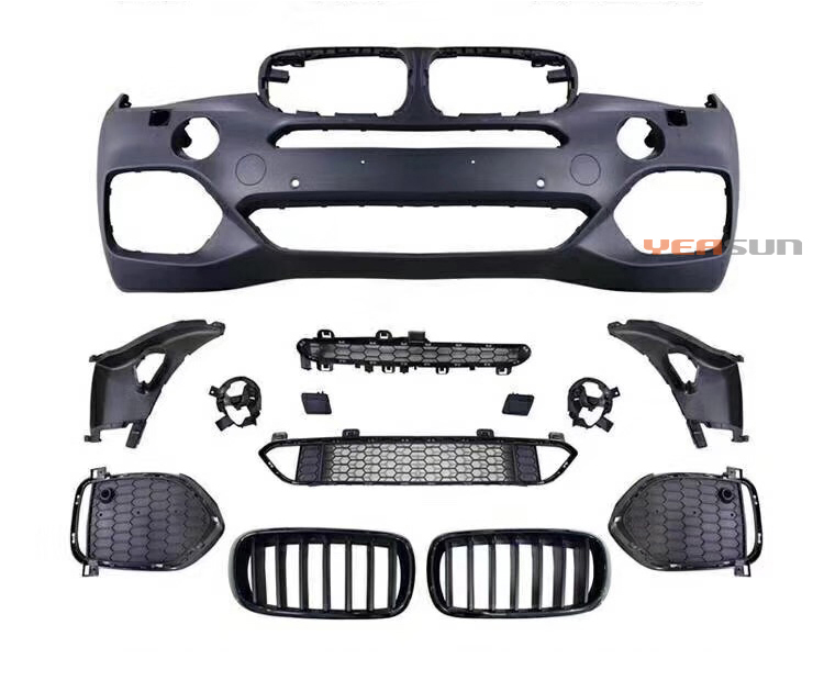 Per BMW F15 X5 M-TECH lifting paraurti anteriore del corpo kit 2014 2015 2018