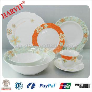 New Design Dubai Wholesale Market Keramik Geschirr Dekoration
