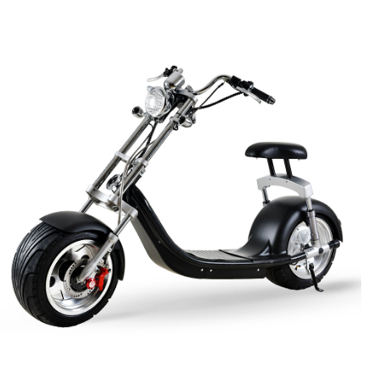 Emak/COC/EEC Certification Stylish and lightweight 1000W/60V/12AH Electric Scooter Citycoco, Yellow black other