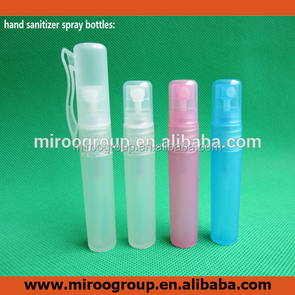 5ml/ 8ml/ 10ml pen spray hand sanitizer bottle for hand wash and perfume