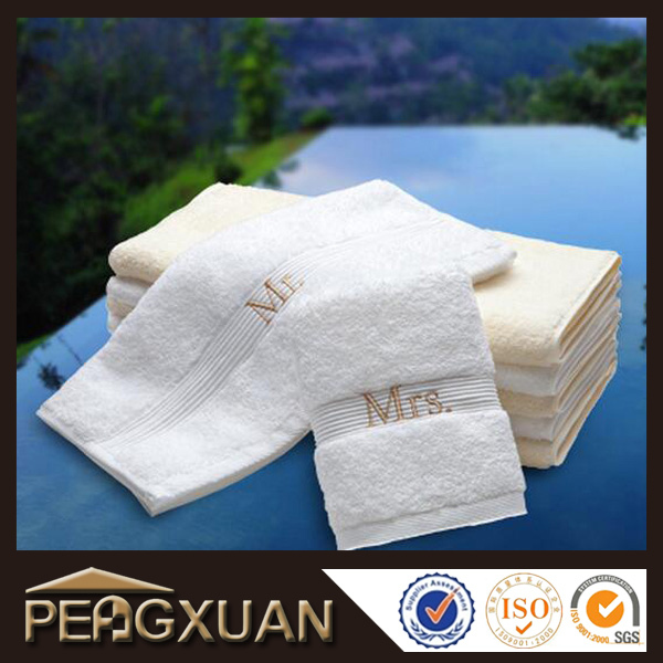 manufactures wholesale 100 cotton towels embroidered logo
