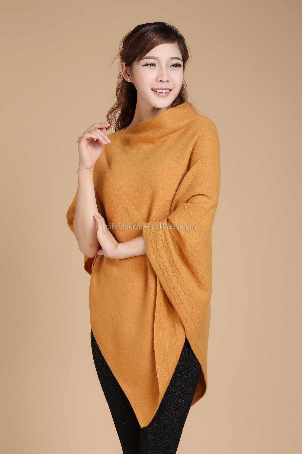 Wool And Cashmere Capes With Tassel Ponchos And Shawls Women - Buy Ponchos  And Shawls Women,Wool And Cashmere Capes,Capes With Tassel Product on