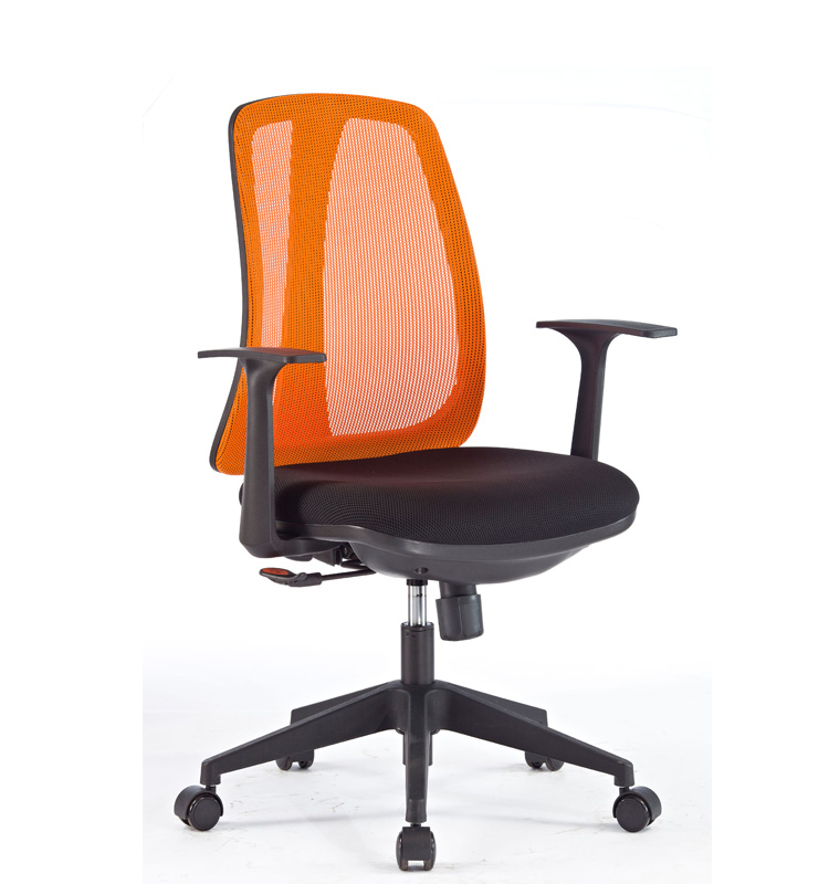 Good Quality <strong>Orange</strong> Mesh Heated Luxury Executive Office Chair for Commerce