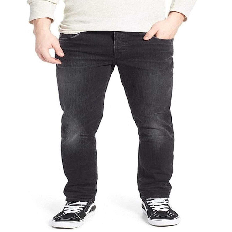 b1c6052b Get Quotations · Nudie Jeans 'Grim Tim' Slim Fit Jeans (Breaking Black)  -Size W30