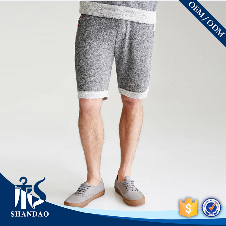 Guangzhou Shandao Summer New Listing Men Cotton Sport OEM Seam wholesale blank sweat shorts