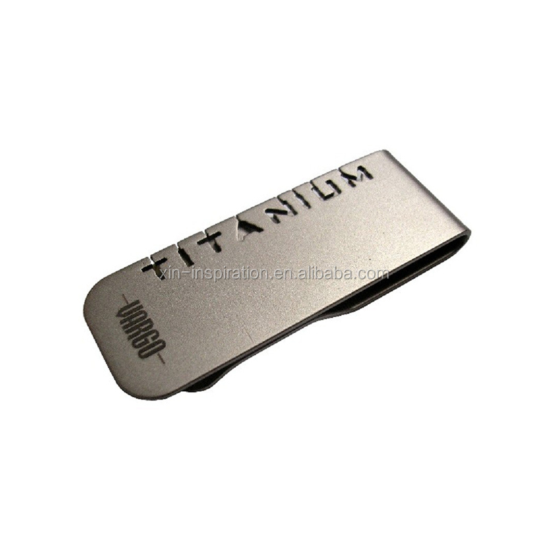 Wholesale Customized Etching Metal Money Clip