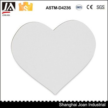 Heart Shape Blank Stretch Canvas Frame - Buy Stretch Canvas Frame ...