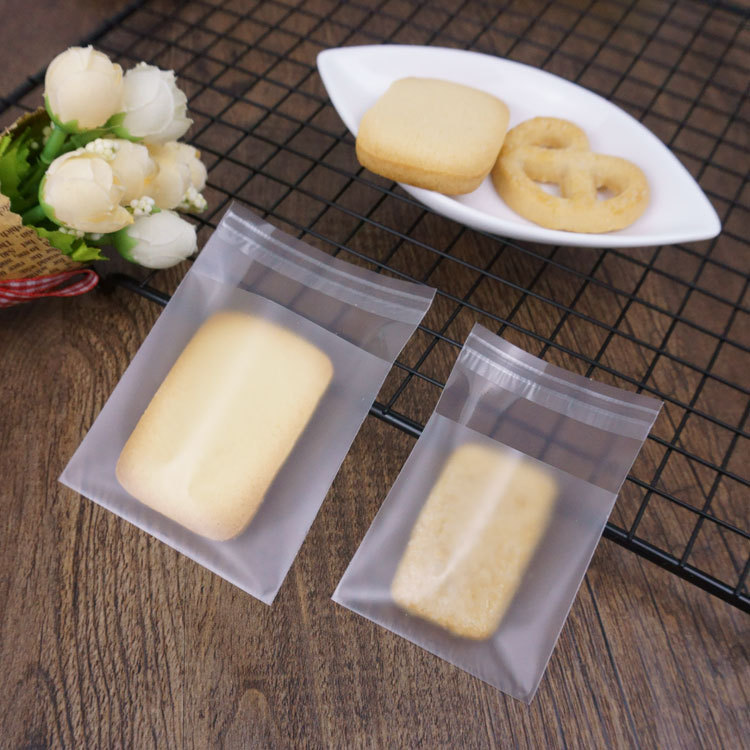 restaurant small plastic bags for tea  candy sandwich bag cookie retail food packaging Self adhesive  plastic bags