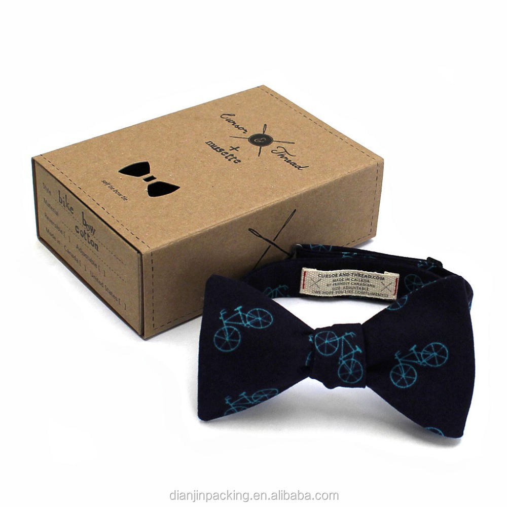 hanging bow tie packaging box