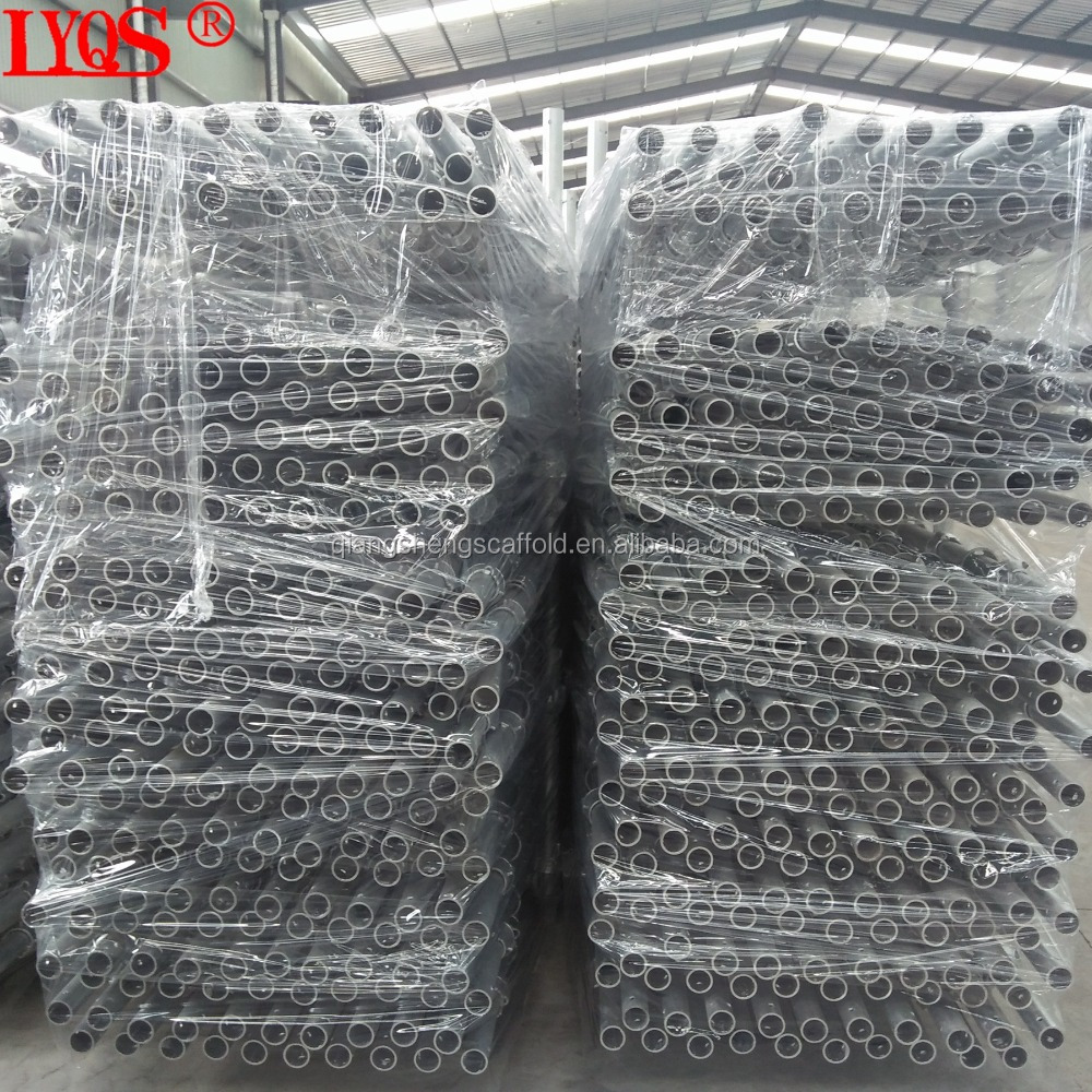 Hot Dipped Galvanized Cuplock Scaffolding System 3M Cuplock Standard for Building Construction