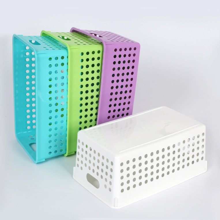 J223 colorful Multifunctional kitchen plastic vegetable storage basket