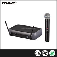 Tymine Professional Hot Sale UHF Single Channel Karaoke Wireless Microphone TM-UT01HH