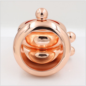 Promotion hot sale bracelet rose gold hip flask 3oz portable wine pot