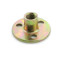 Colour zinc three hole nut lock nut M6 M8 M10